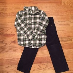Janie and Jack Boys Outfit